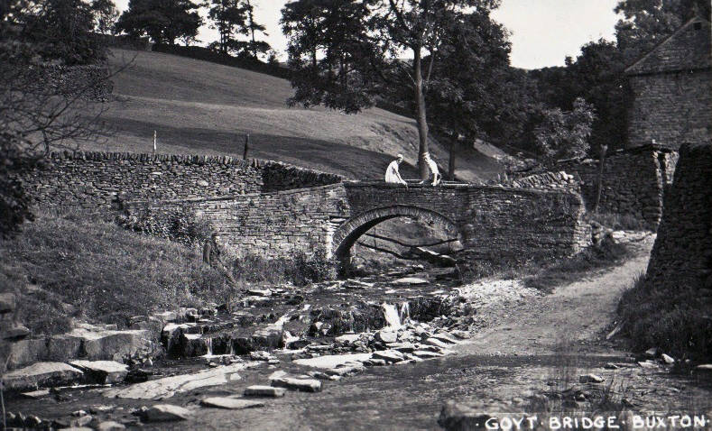 Whaley Bridge History, Goyt Valley Roads Tracks and Trails